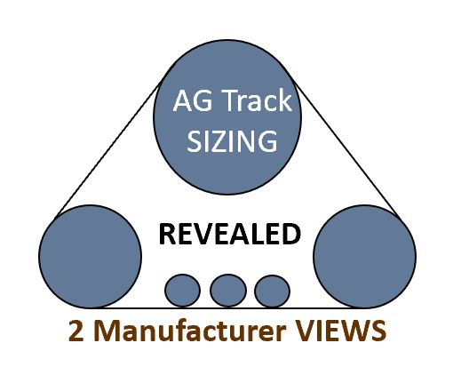 How To Read AG Track Size:  RIGHT Equipment Fitment